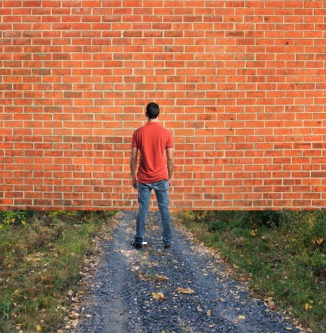 Devant un mur-Dialogues avec lunivers